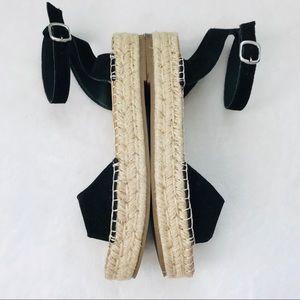 Steve Madden Shoes - Steve Madden Illie black flatform espadrilles